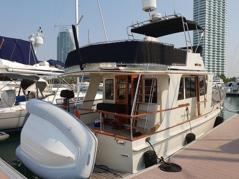Island Gypsy 36 motor yacht-12