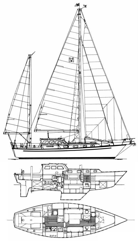 38' Mariner 1981 Pilothouse 38