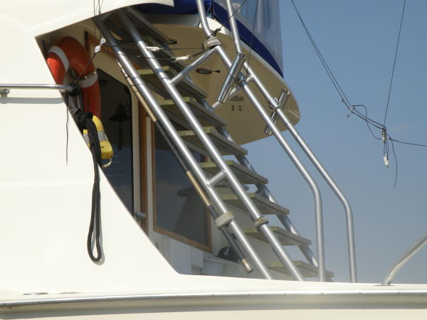 Custom Flybridge Ladder