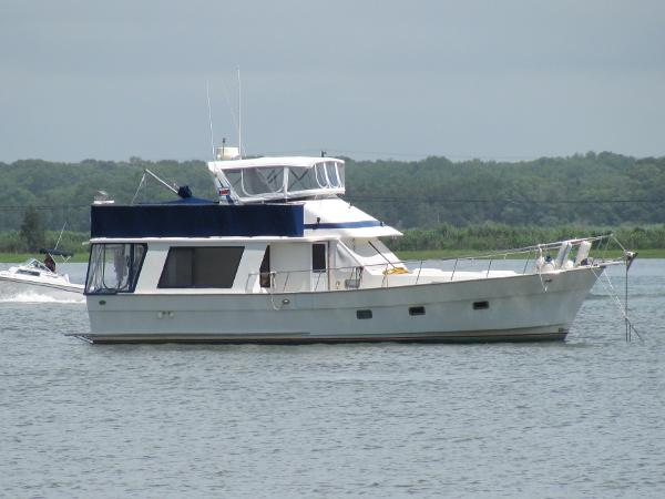 46' Golden Star 1987 46 Sedan Trawler