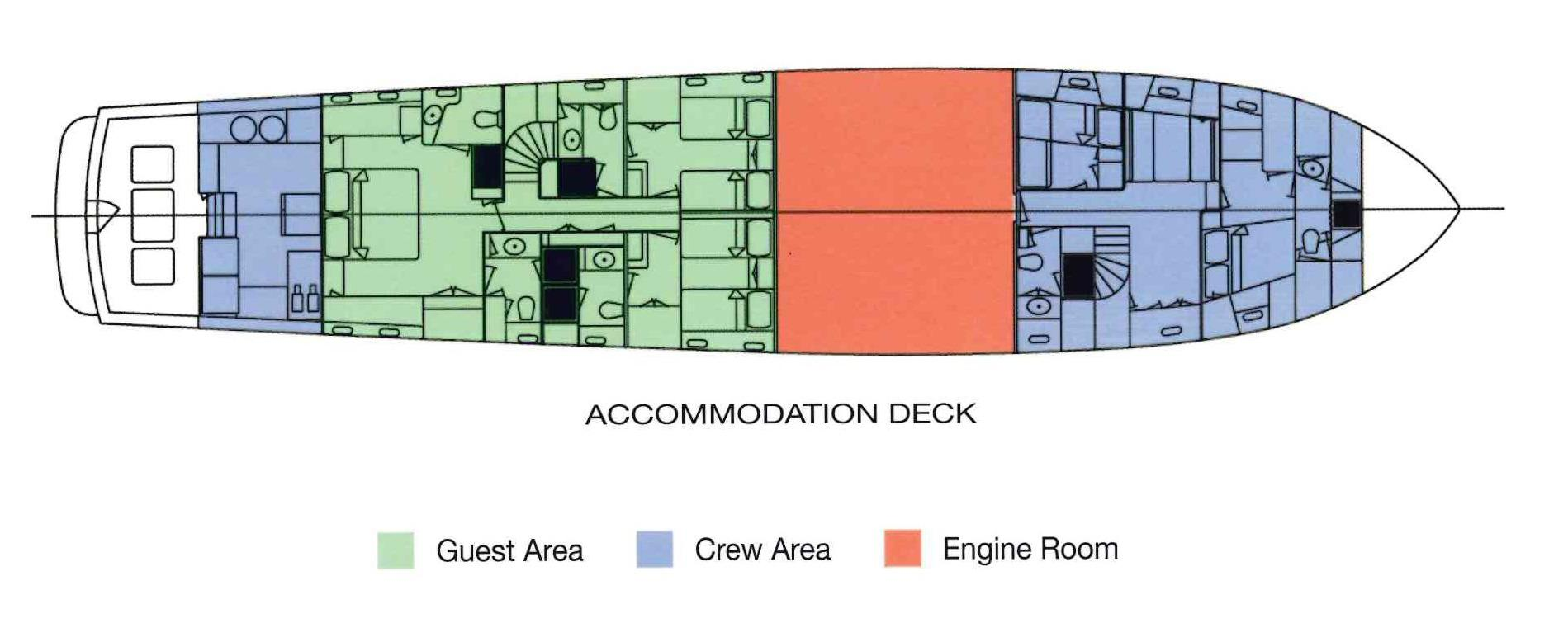 Banyan Palmer Johnson 102 Yachts For Sale Oil Injector Wiring Diagram Accommodation Deck Drawing