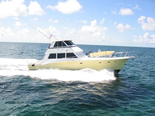 Hatteras Convertible Enclosed Bridge Convertible Boats