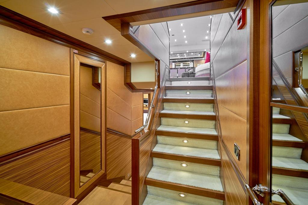 Stairway to Staterooms