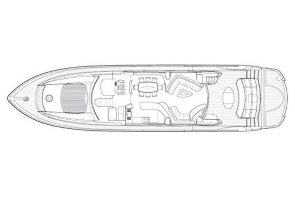 Manufacturer Provided Image: Saloon Layout