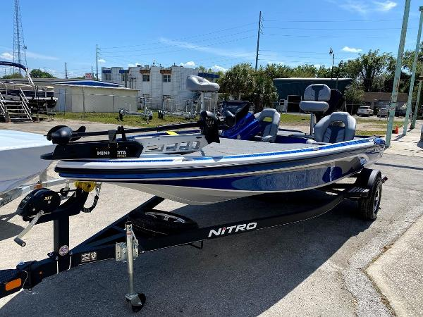 2020 Nitro boat for sale, model of the boat is Z18 & Image # 5 of 13