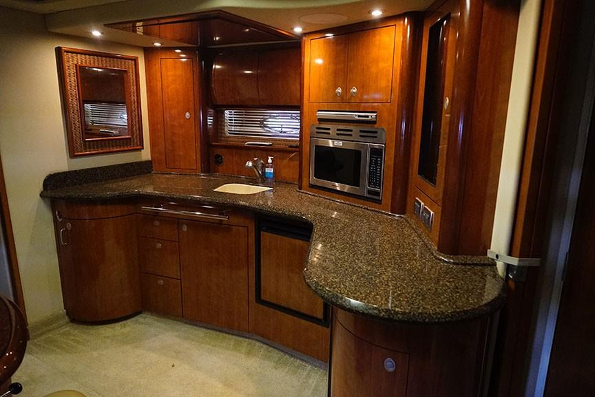 Sea Ray 420 Sundancer - Galley