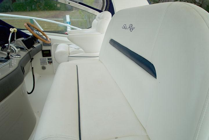 Sea Ray 420 Sundancer - Companion Seats and Capt Chair