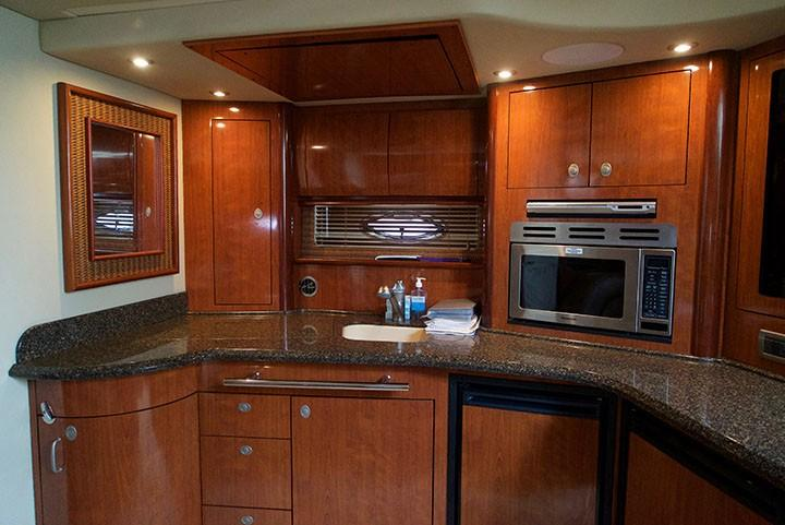 Sea Ray 420 Sundancer - Galley 5