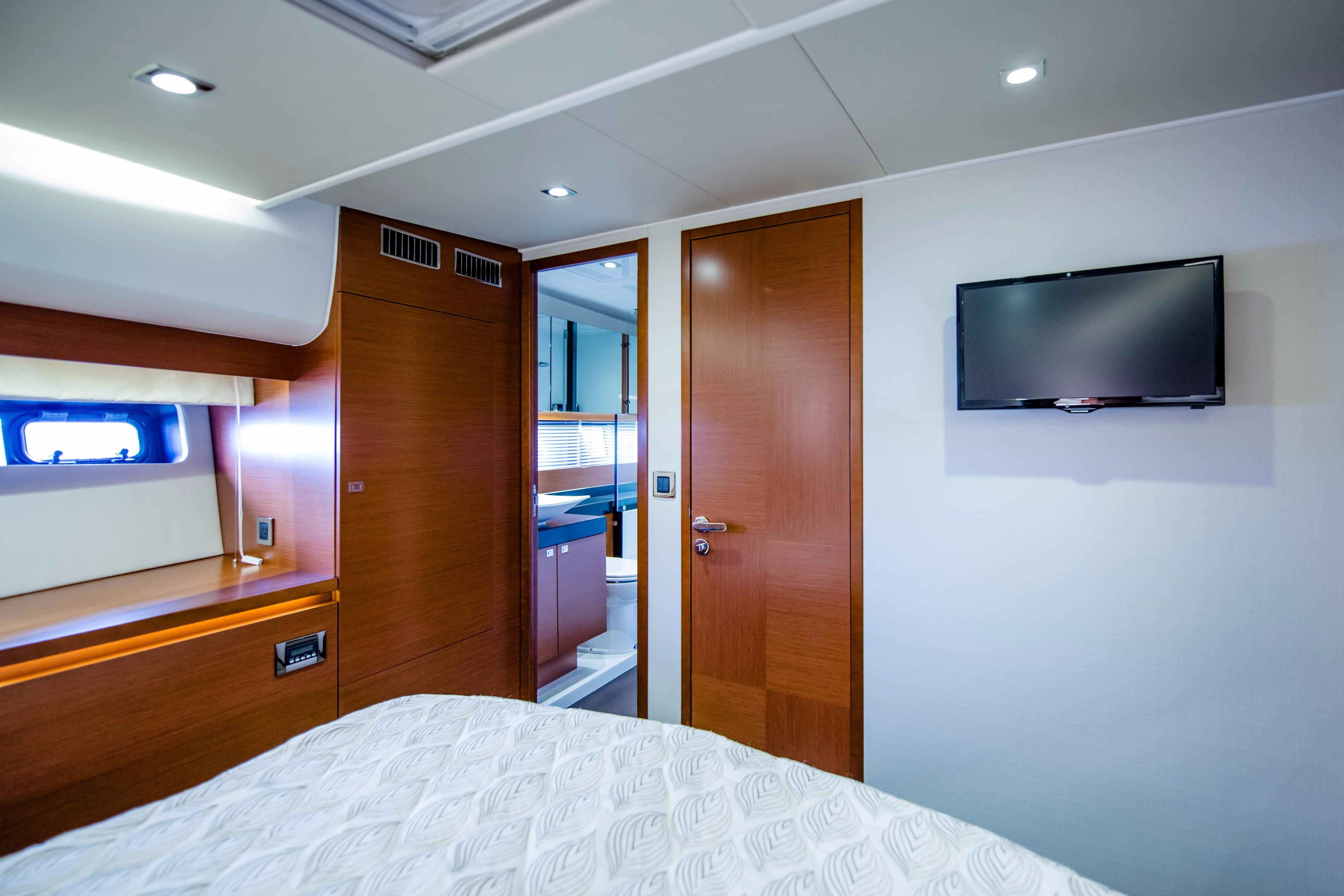 VIP Stateroom - Aft View