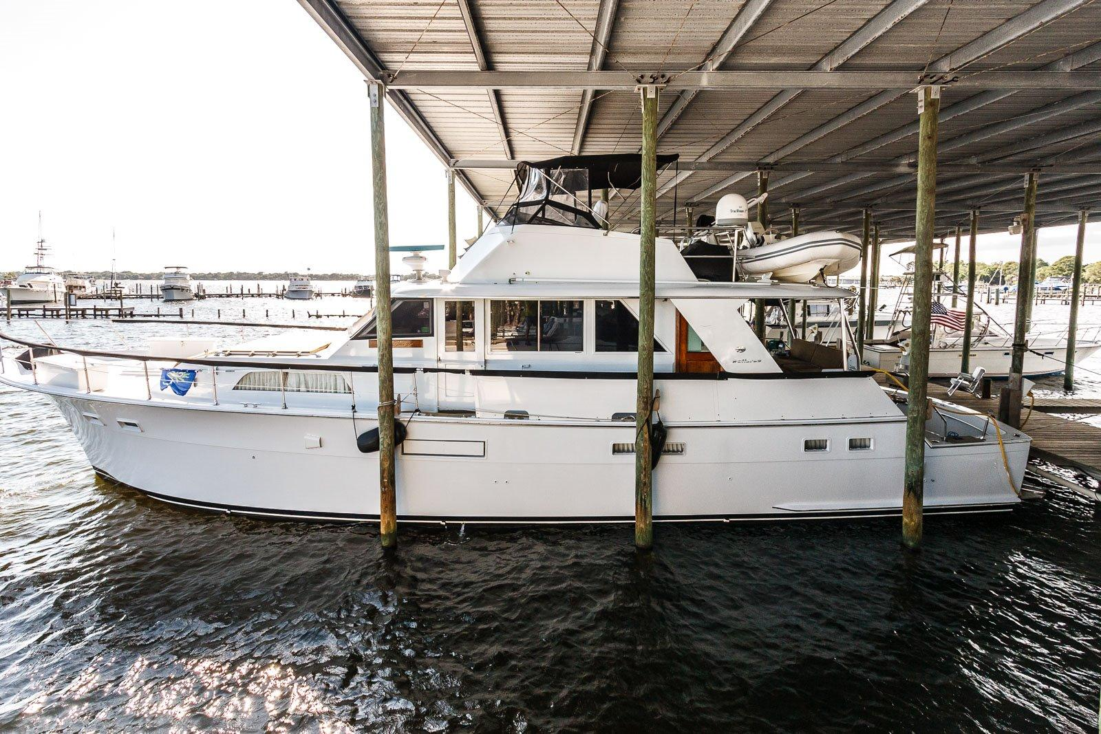 1973 Hatteras 58 Yacht Fisherman For Sale