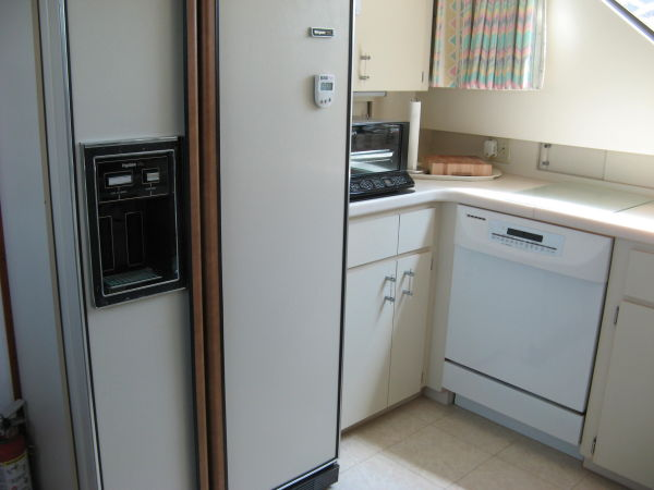 Galley Side By Side Refrigerator