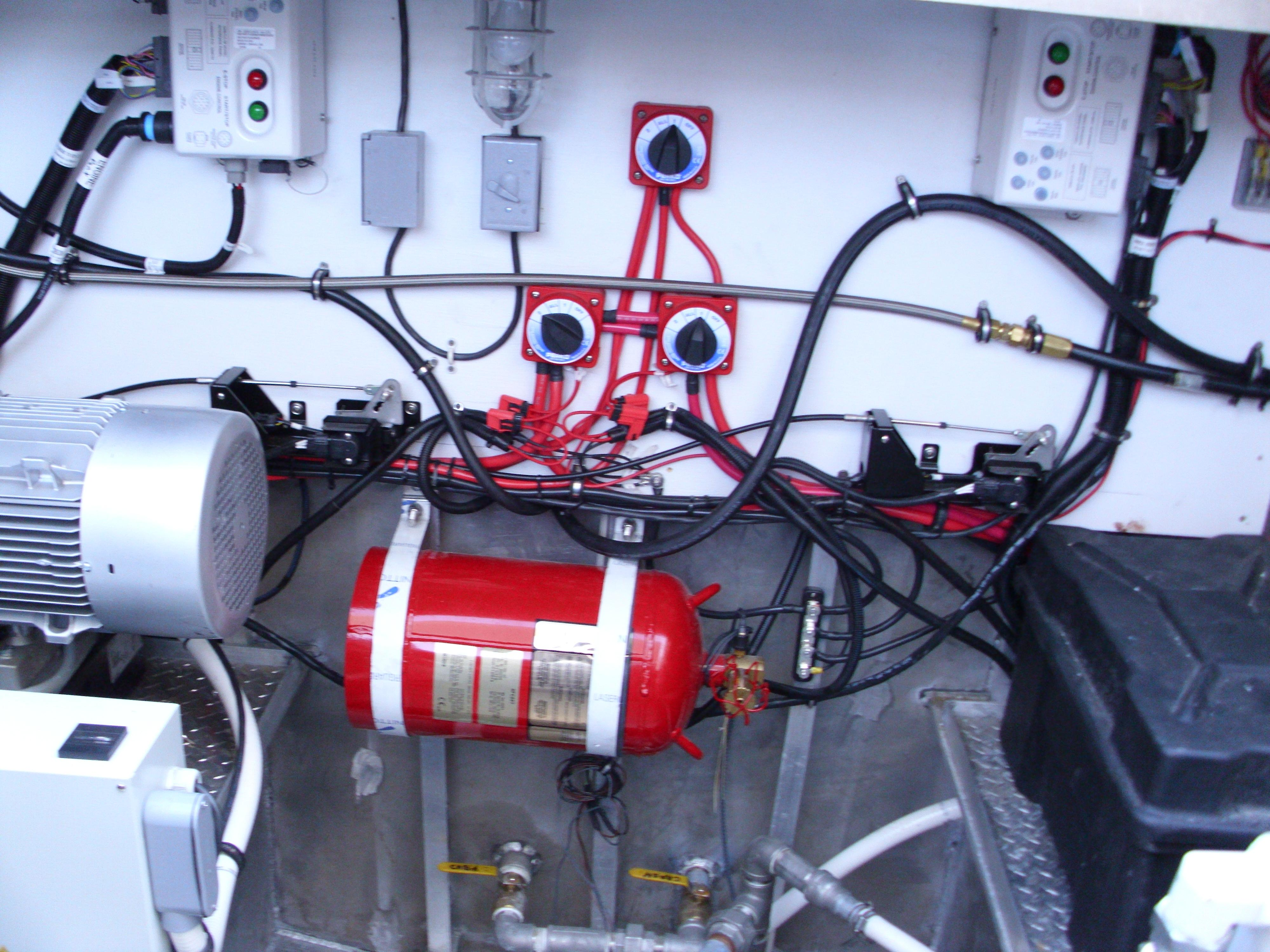 DC switches and Fire Suppression