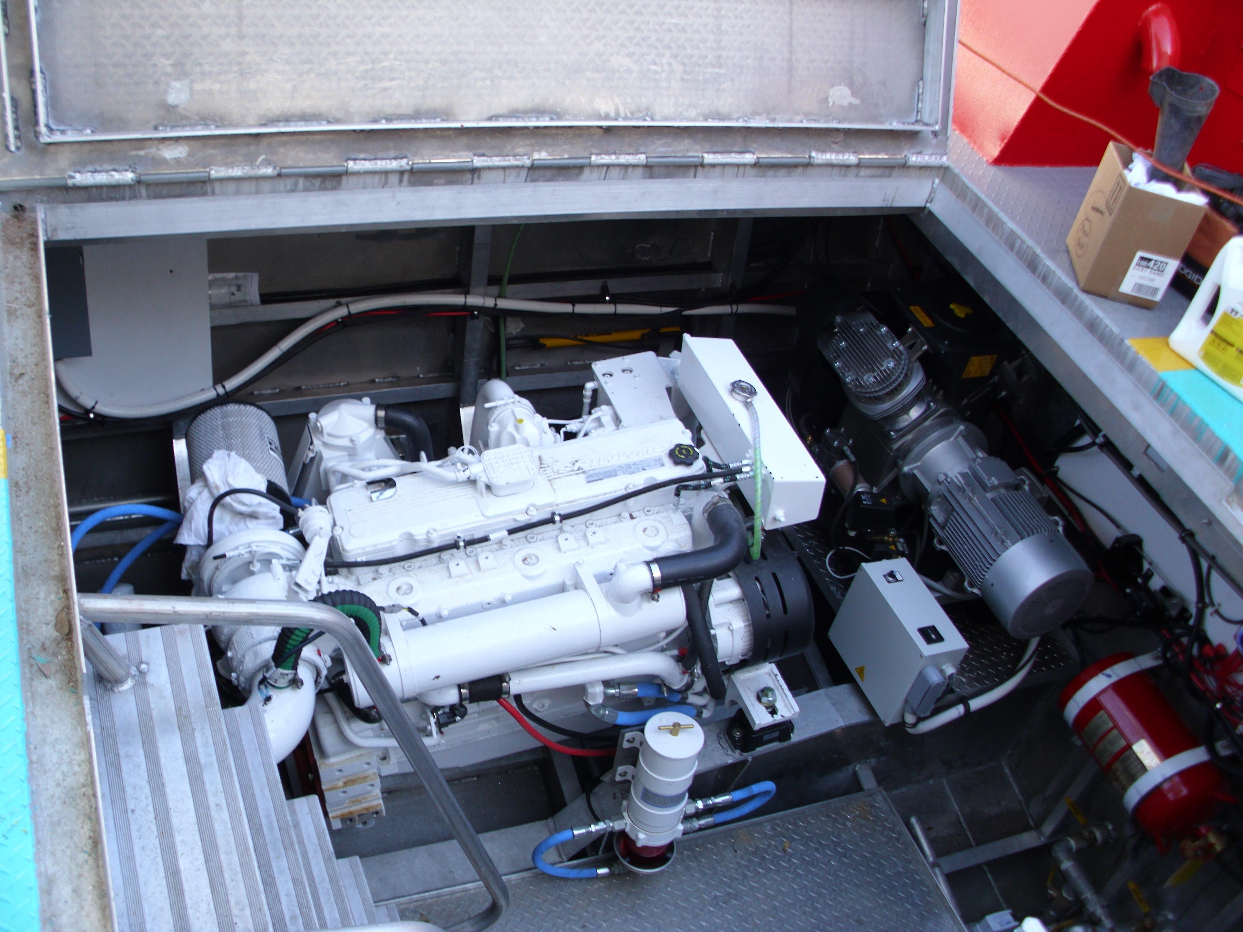 Port Engine and Air Compressor