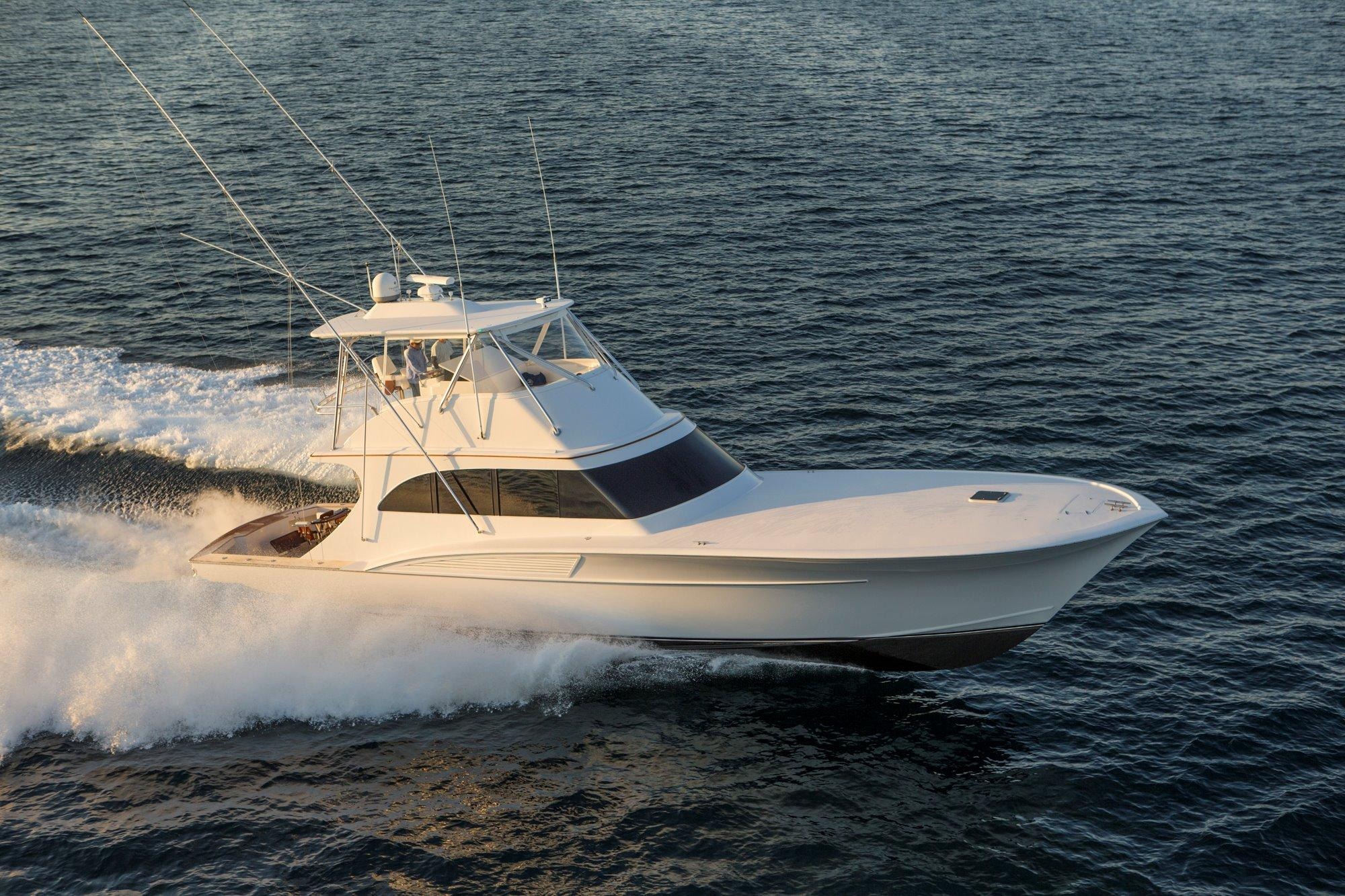 2008 Custom Shearline Boatworks 61' Convertible