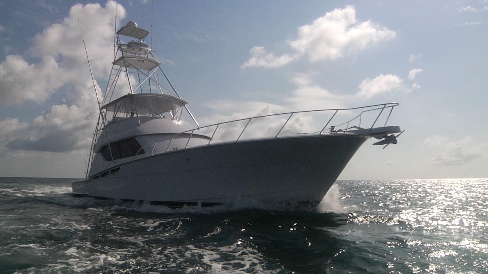 2001 60' Hatteras 'Fish Hog