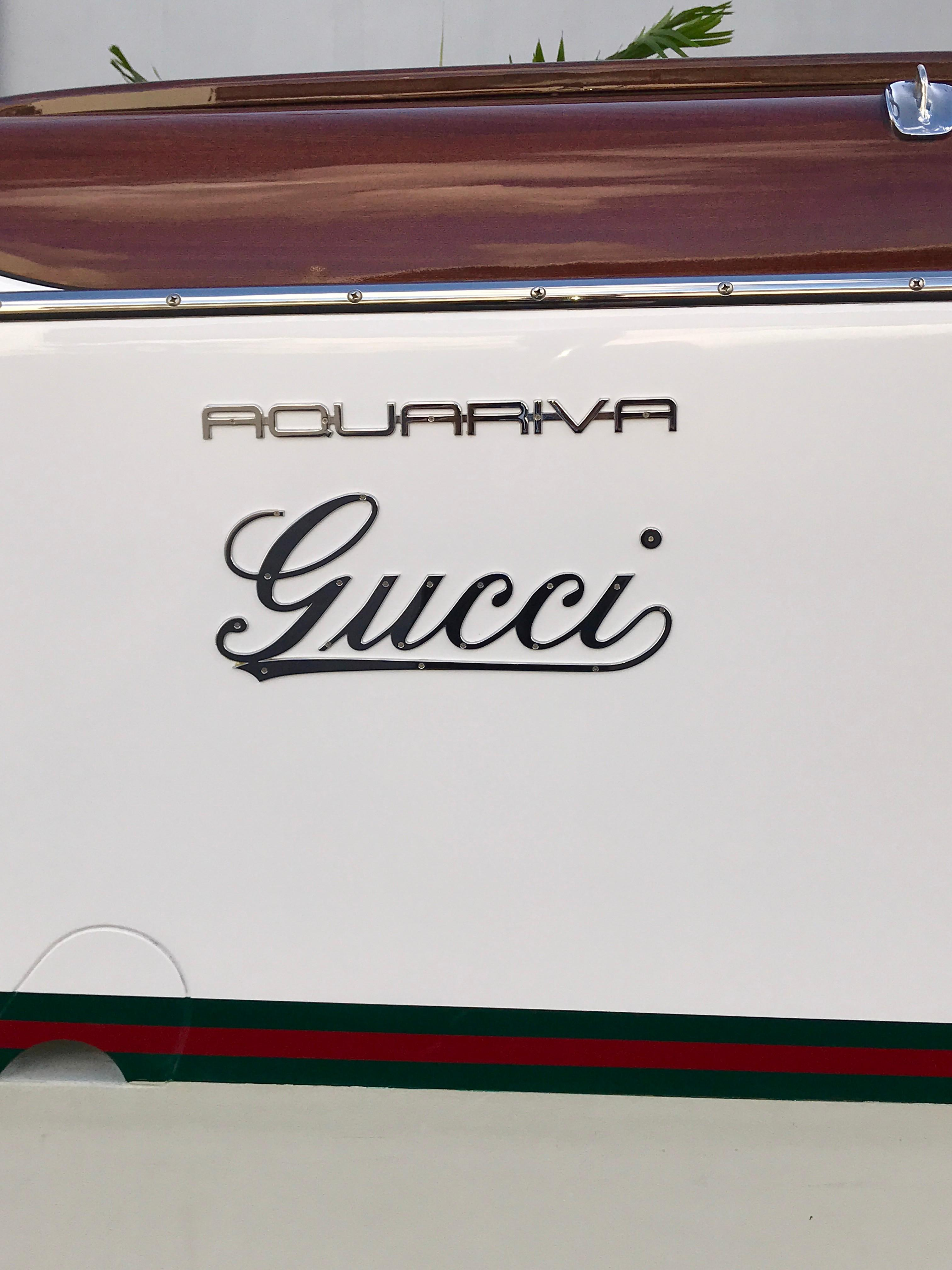 2012 Riva 33 Aquariva Gucci -