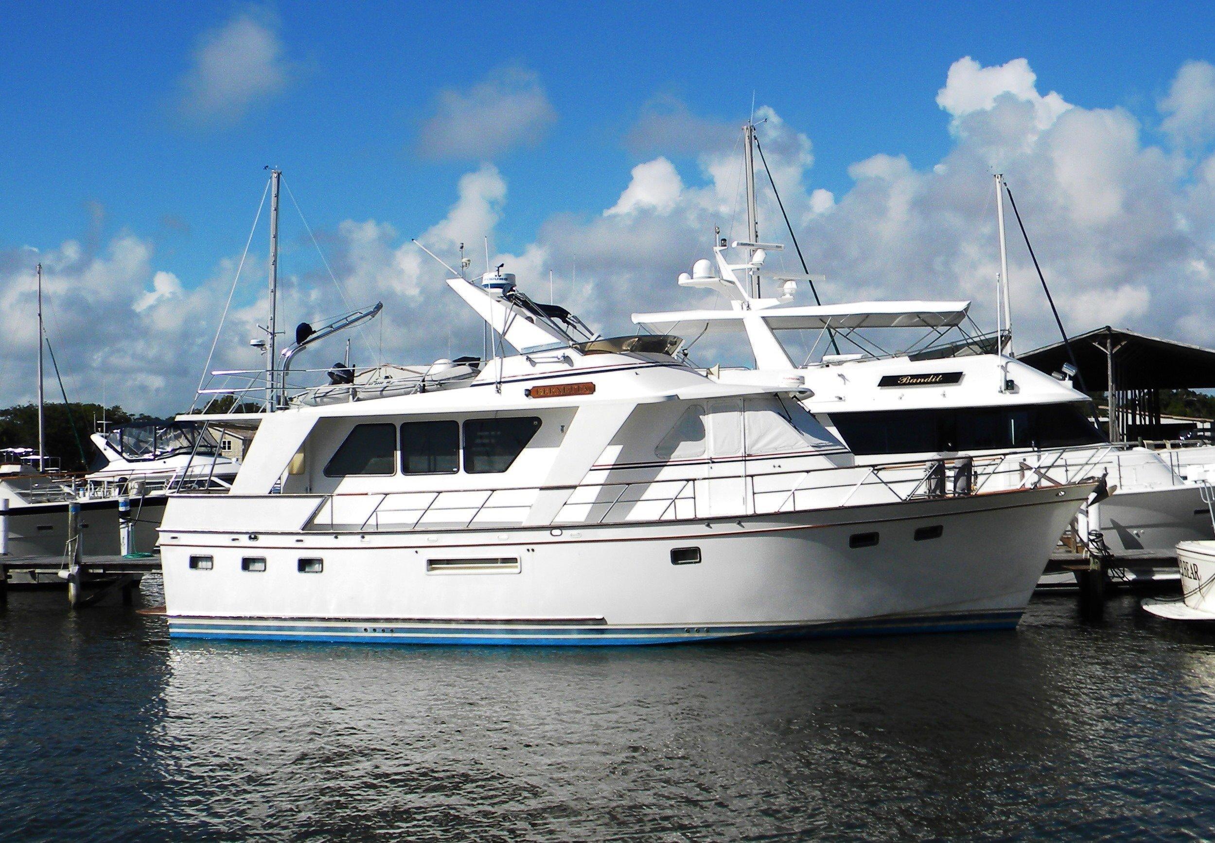53 defever bernetta 1988 daytona beach denison yacht sales for Large motor yachts for sale