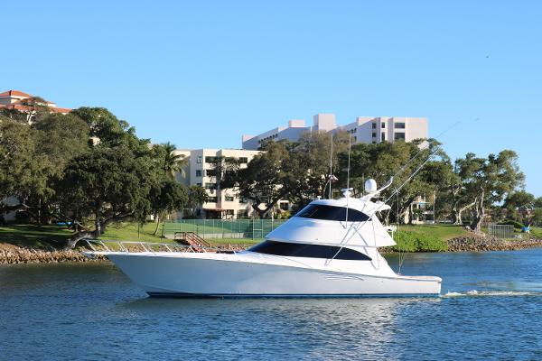 2014 62' Viking 62 Enclosed Bridge