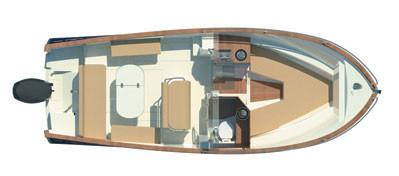Rhea Marine Open 27 Escapade plan