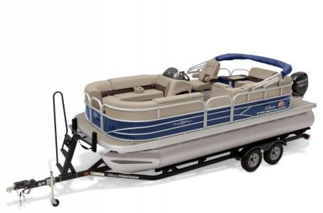 2019 Sun Tracker boat for sale, model of the boat is PARTY BARGE 20 w/ Mercury 90Hp 4S CT & Image # 2 of 17