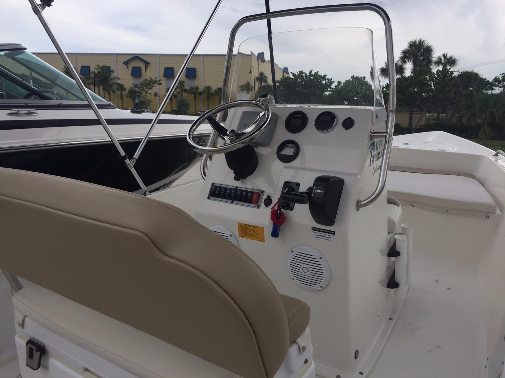 Key West 2016 17-feet 1720 Sportsman – Jupiter Pointe Club ...
