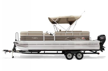 2019 Sun Tracker boat for sale, model of the boat is PARTY BARGE 22 w/ Mercury 115 ELPT 4S & Image # 6 of 26
