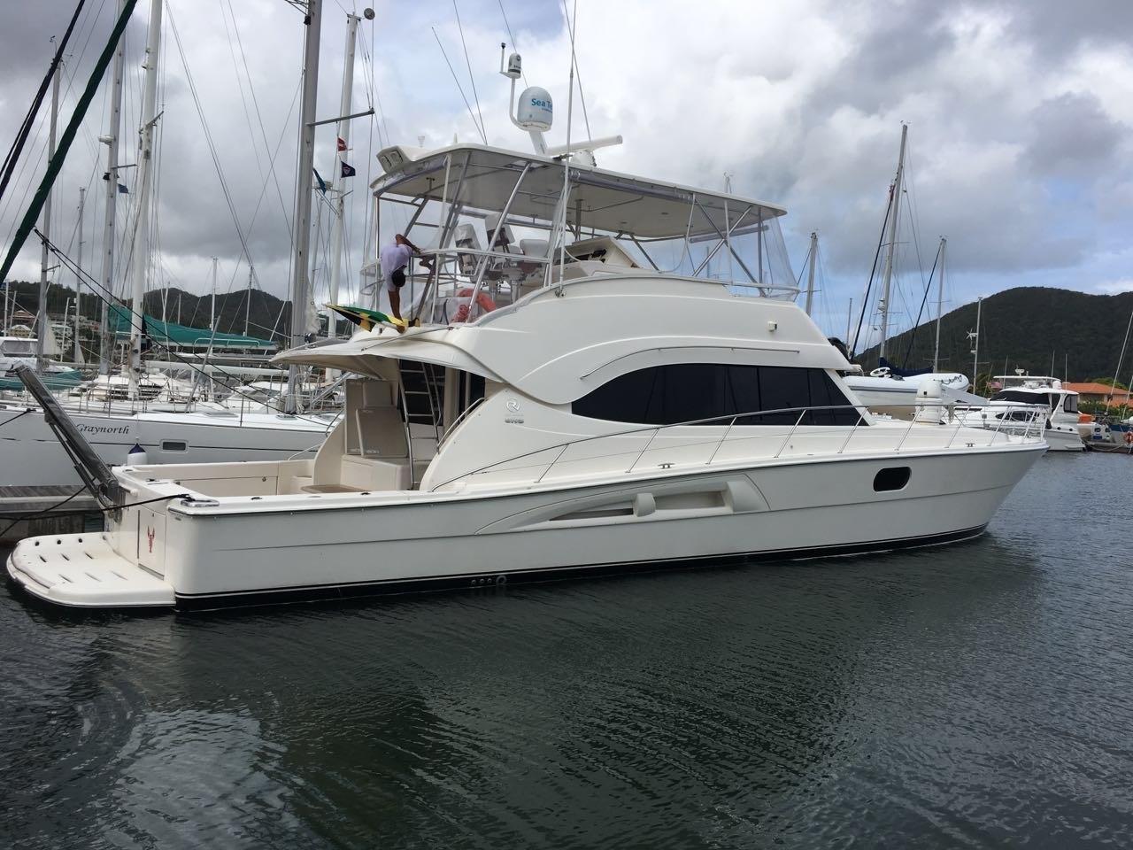 58' Riviera Flybridge Motor Yacht CRISTHI