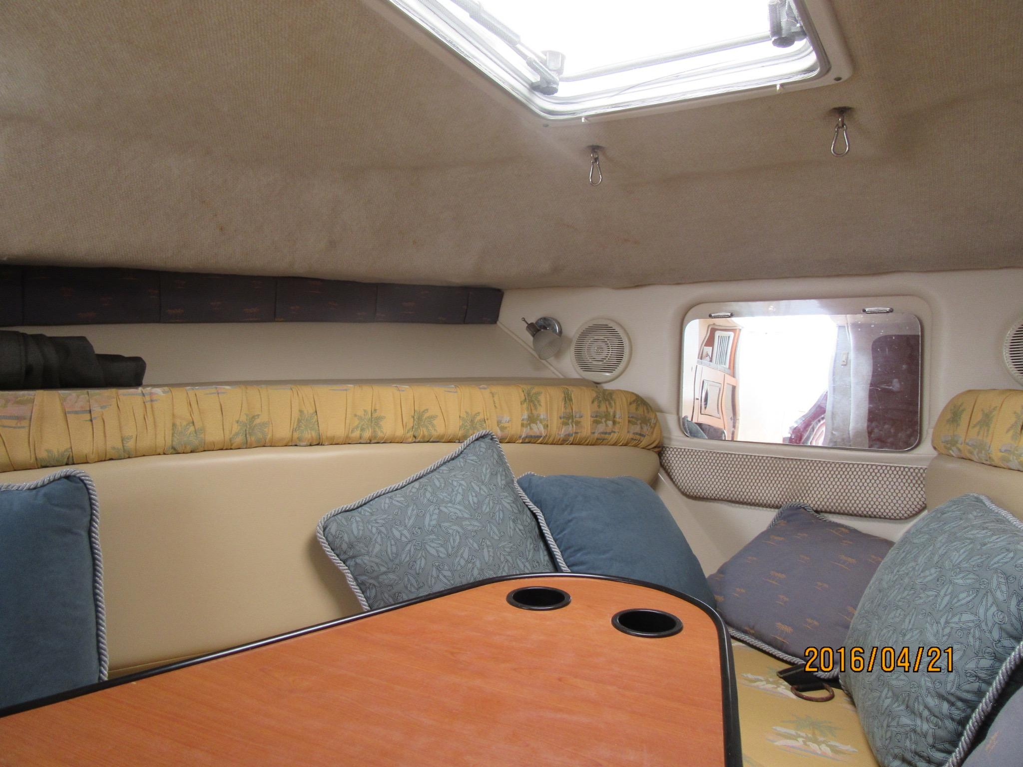 GALLEY WITH SINK & NEW STOVE & MICROWAVE