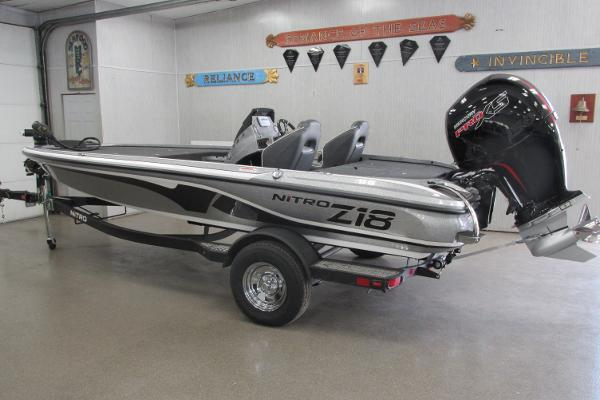 2021 Nitro boat for sale, model of the boat is Z18 & Image # 1 of 26