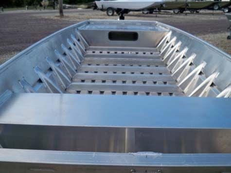 Eberlin boats and motors 2015 alweld 1652 sport jon w for Jon boat with jet motor