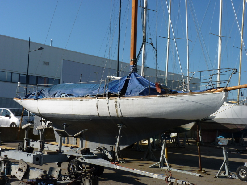 Classic Wooden Yacht Dorothy