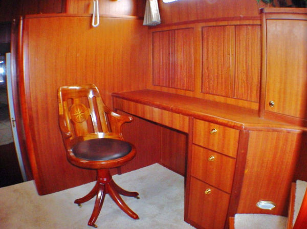 Captain's Study Desk