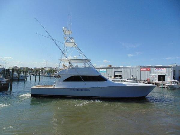 2001 61' Viking Yachts Convertible