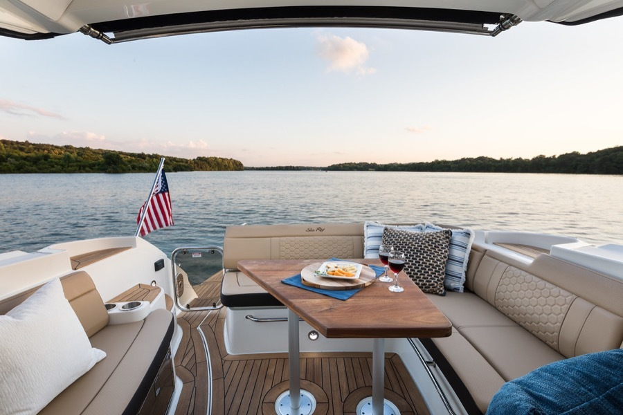 2020 Sea Ray boat for sale, model of the boat is 350 Coupe & Image # 13 of 29