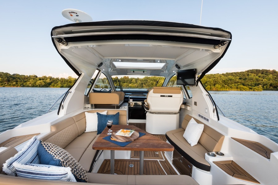 2020 Sea Ray boat for sale, model of the boat is 350 Coupe & Image # 26 of 29