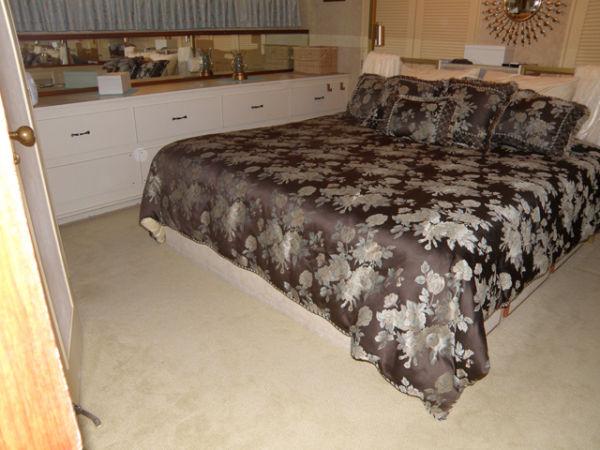 Master Stateroom New Carpet