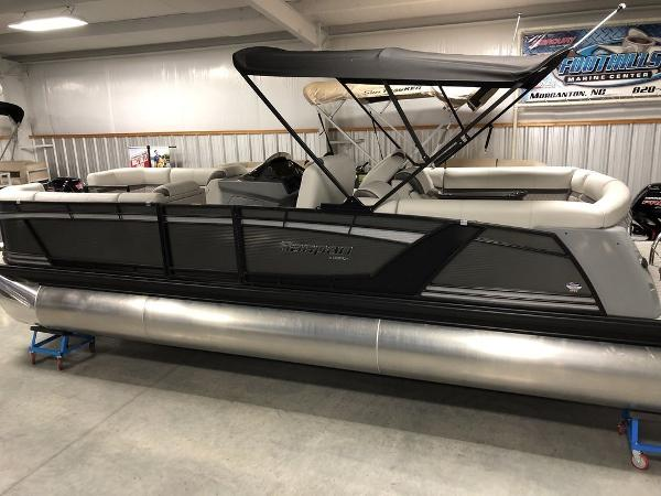 2019 Godfrey Pontoon boat for sale, model of the boat is SP 2500 ULC TT-27 & Image # 38 of 44