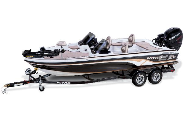 2014 Nitro boat for sale, model of the boat is ZV 21 w/ 250 XL OptiMax Pro XS and Trailer & Image # 12 of 57