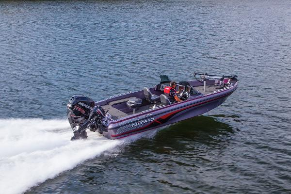 2014 Nitro boat for sale, model of the boat is ZV 21 w/ 250 XL OptiMax Pro XS and Trailer & Image # 3 of 57