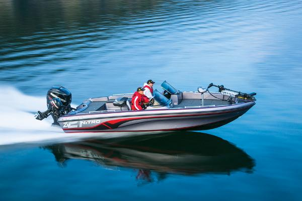 2014 Nitro boat for sale, model of the boat is ZV 21 w/ 250 XL OptiMax Pro XS and Trailer & Image # 7 of 57