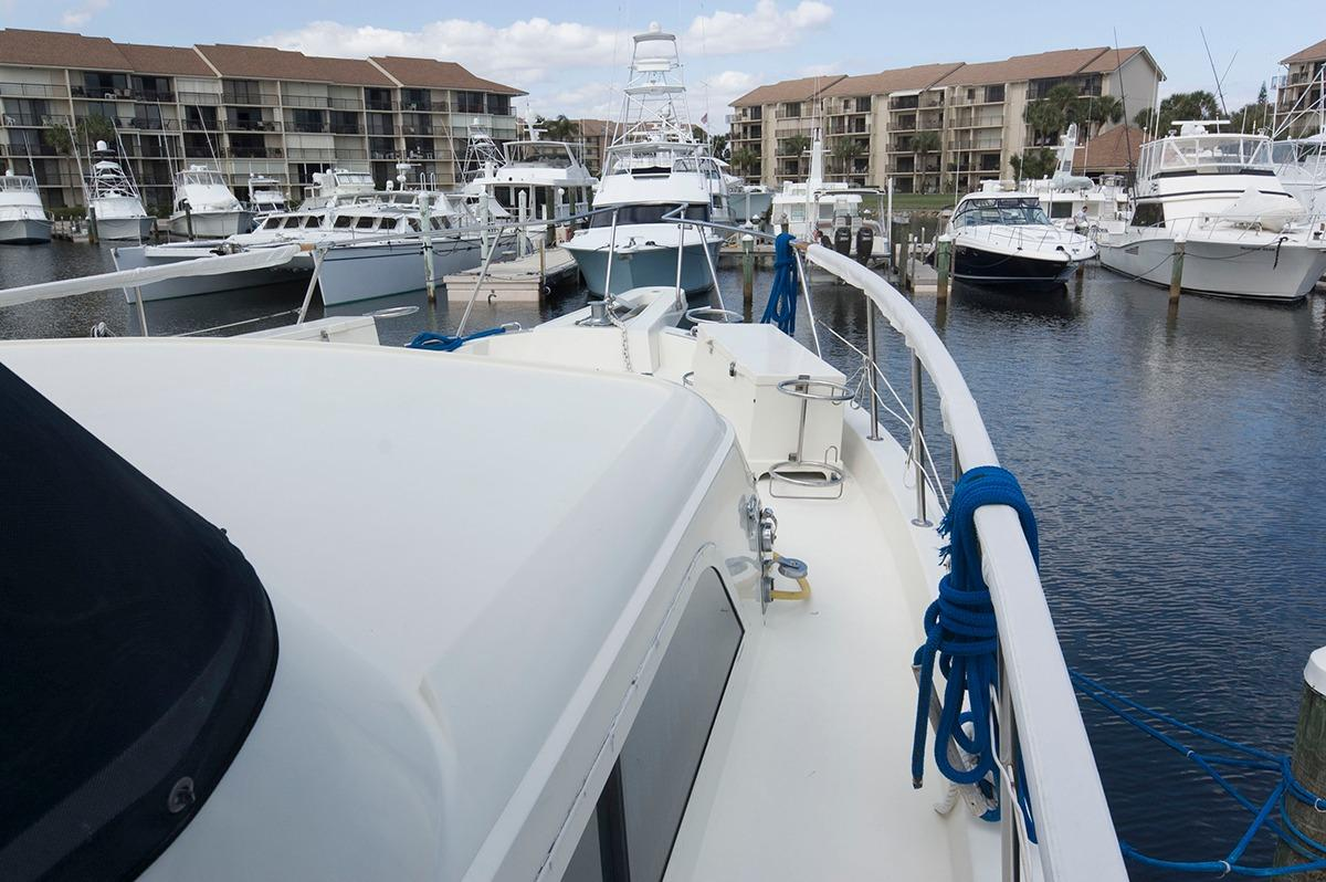 1987 Hatteras 58 Motor Yacht For Sale