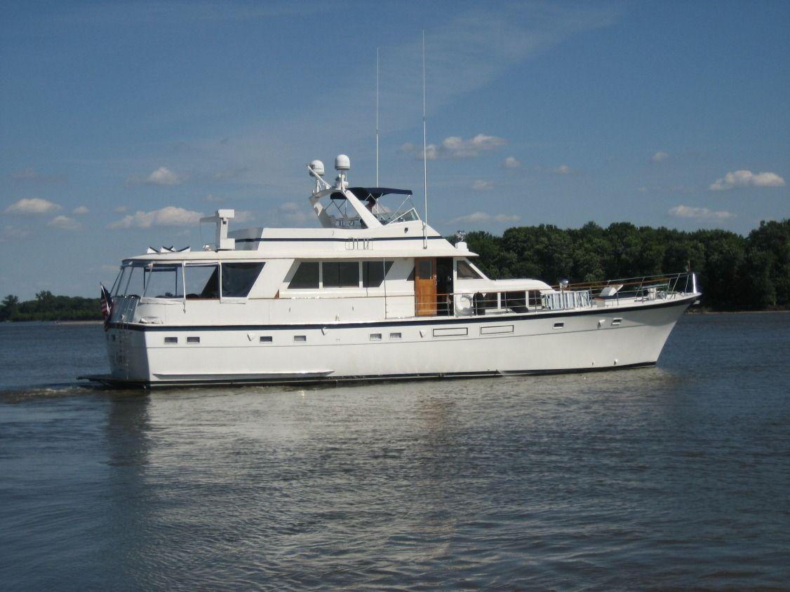 70 Hatteras 1974 St Louis Denison Yacht Sales