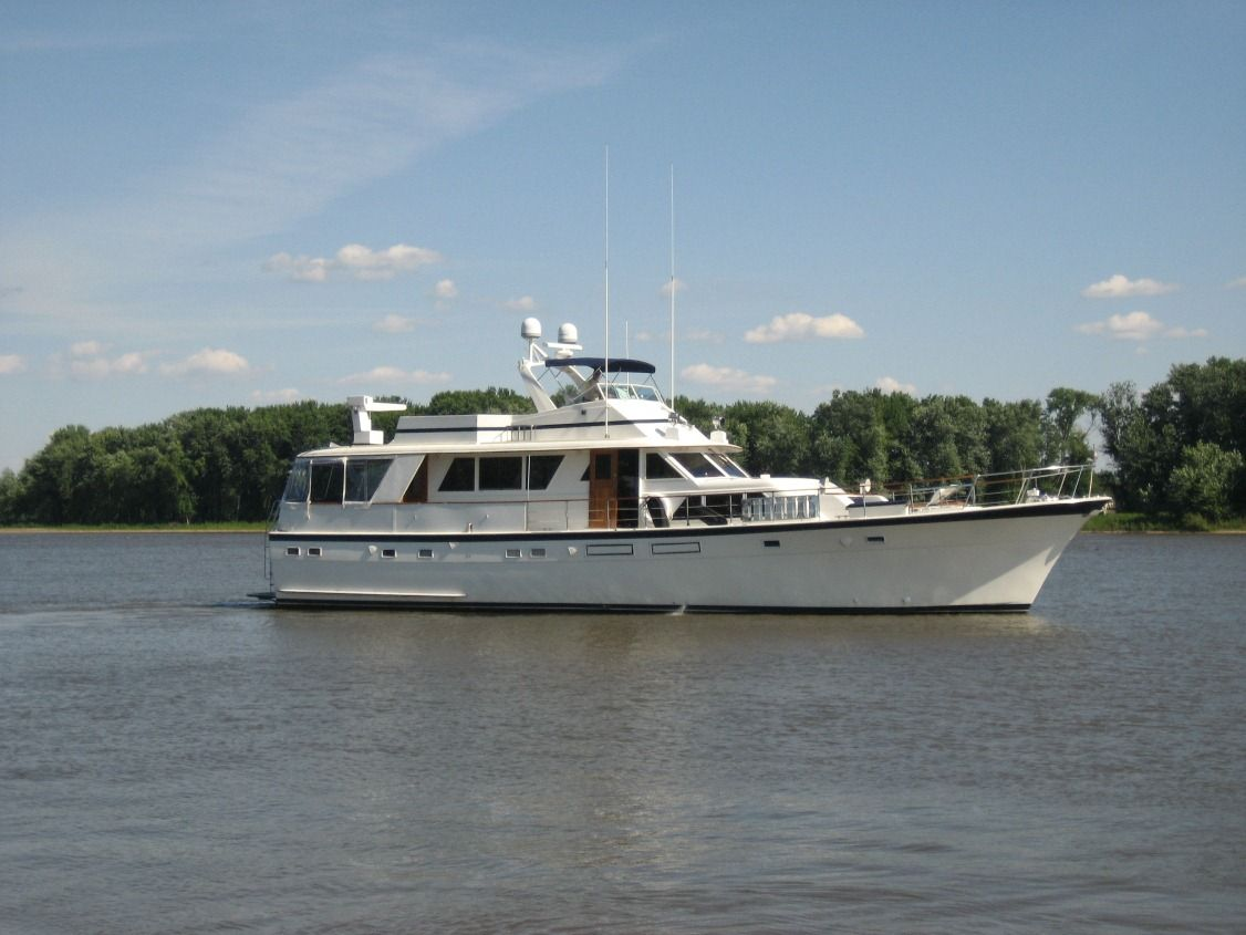 70 hatteras 1974 for sale in st louis missouri us for Hatteras 70 motor yacht
