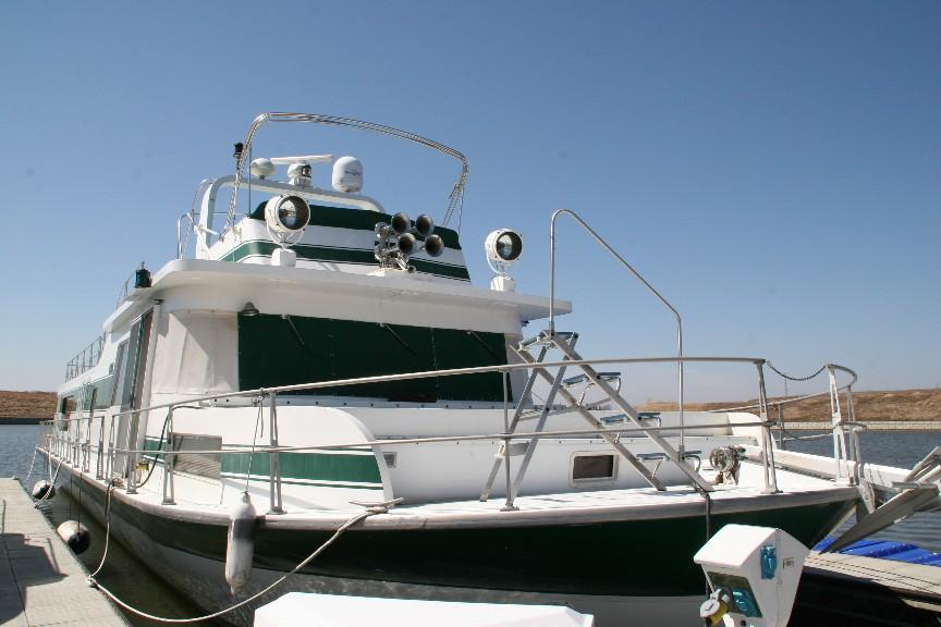 View of Bow looking Aft