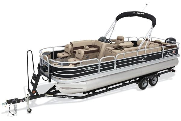 2018 SUN TRACKER FISHIN' BARGE 24 DLX for sale