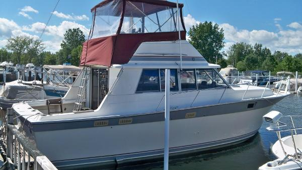 1985 SILVERTON 37 CONVERTABLE for sale