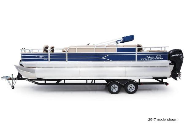 2018 Sun Tracker boat for sale, model of the boat is Fishin' Barge 24 XP3 & Image # 1 of 7