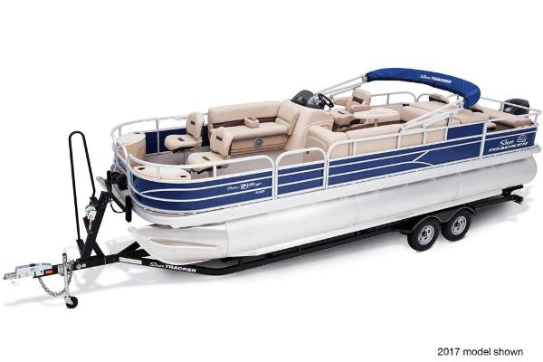2018 Sun Tracker boat for sale, model of the boat is Fishin' Barge 24 XP3 & Image # 3 of 7
