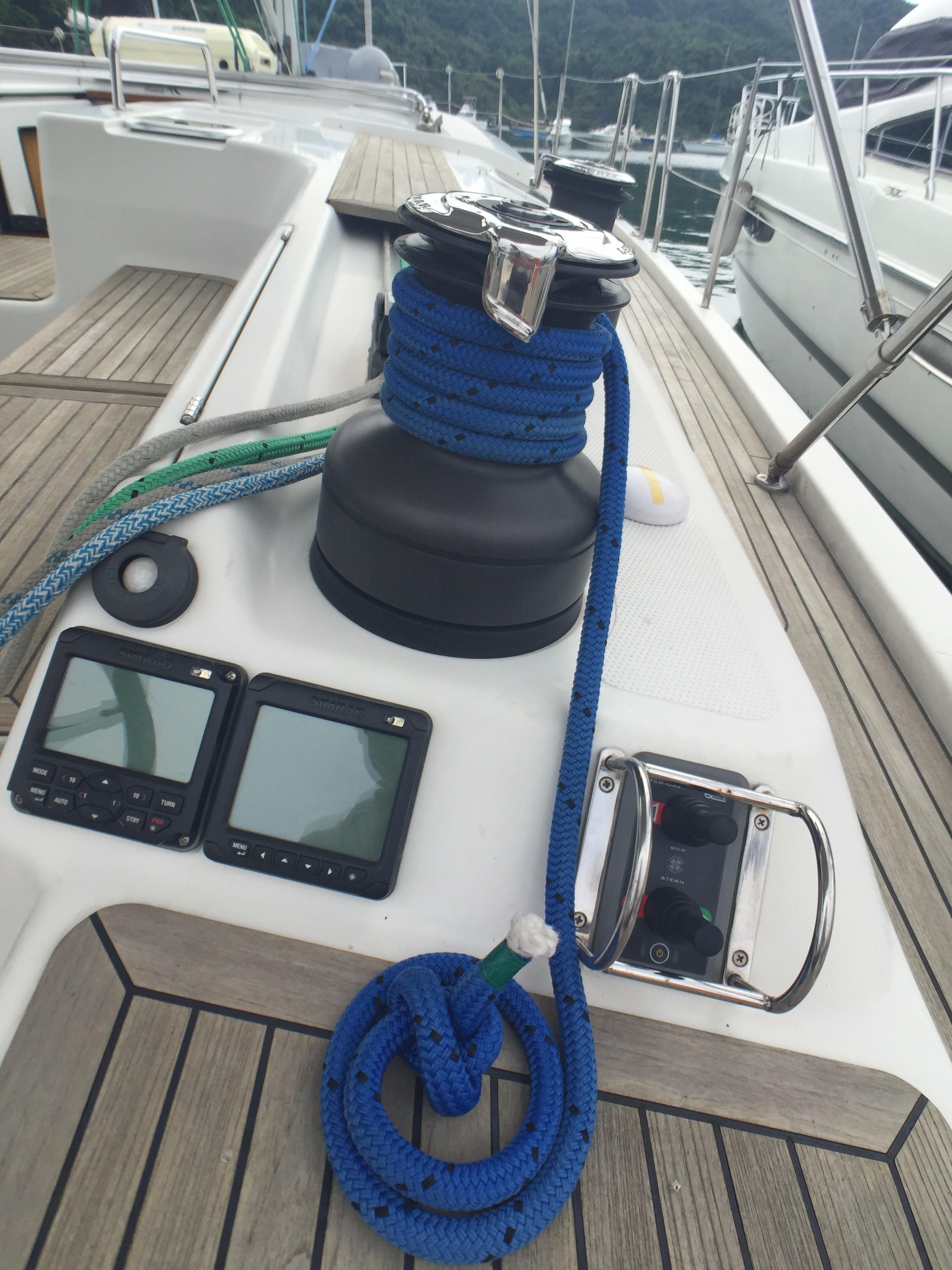 Hanse 495 -- Starboard Cockpit