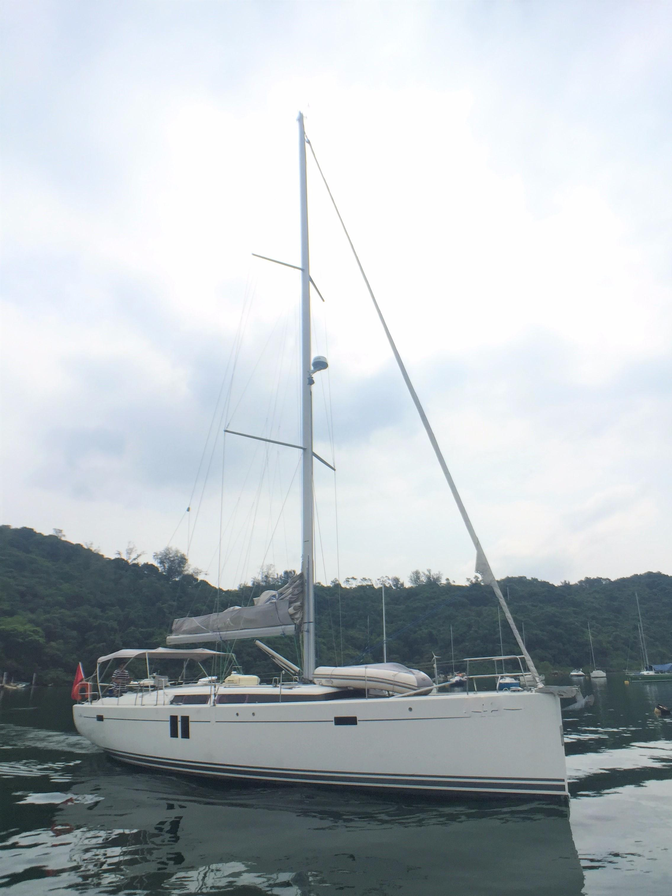 Hanse 495 -- Starboard Profile